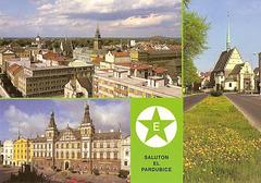 Pardubice - bildkarto