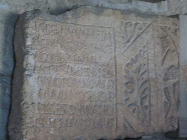 Musée archéologique de Split : CIL III, 14910.