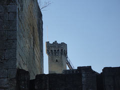 Chateau de Commarque en Dordogne.