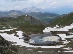Lac des Maits (2563 m), Fonds de Cervières, Briançonnais (France) (France)