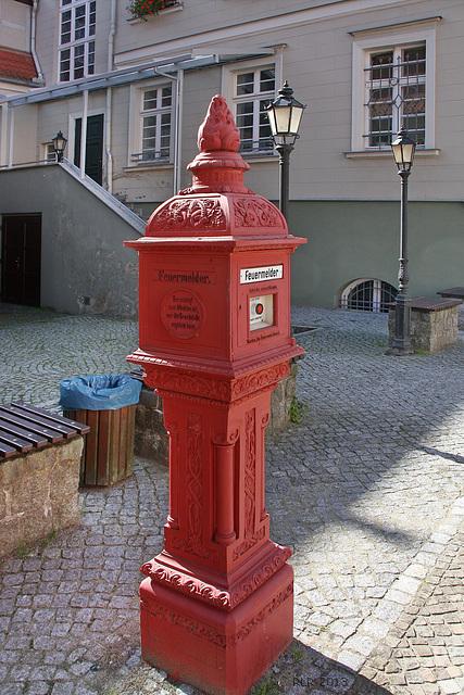 Havelberg, historischer Feuermelder