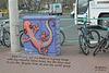 Gecko & the bikes ~ Brighton ~ 27 4 2015