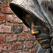 Detail aus dem Stadterhebungsmonument -Mönch