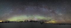 Milky Way above fells