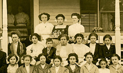 Gladys Morrison's Birthday Party, June 4, 1910 (Cropped)