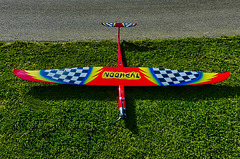 Weltrekordflieger ca. 420 km/h