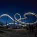 Tiger and Turtle in fading Blue Hour Light (300°)