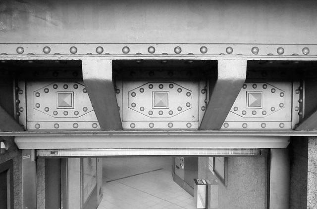 Zugang zur Station Rathaus der U 3