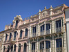 Art nouveau façades.