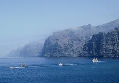 One from  ''Panoramio'' .. 'Los Gigantes' ... Tenerife...