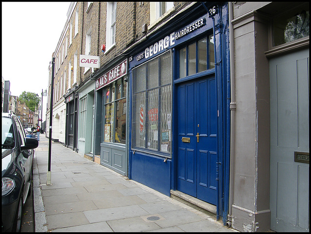 Bermondsey shop fronts