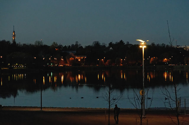 Reflets sur la baie de Töölönlahti