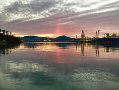 Okpo sunrise