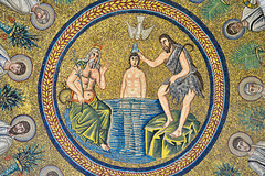 Ravenna 2017 – Battistero degli Ariani – Jesus