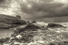 Storm brewing at Peyia