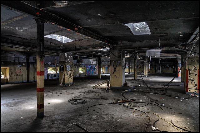 Abandoned Trieste - burned / 1