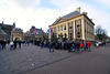 Standing in line for the Mauritshuis