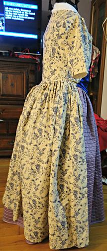 Side of Dress
