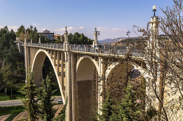 viaducto en Teruel