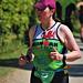 Grafham Water Triathlon.  Katy from Wales