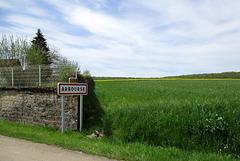 A Arbouse (département de la Nièvre, France)