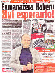 Slovaka gazeto pri Esperanto