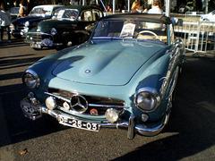 Mercedes-Benz 190 SL (1957).