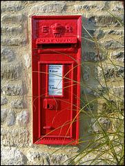 Edward VII Post Office wall box