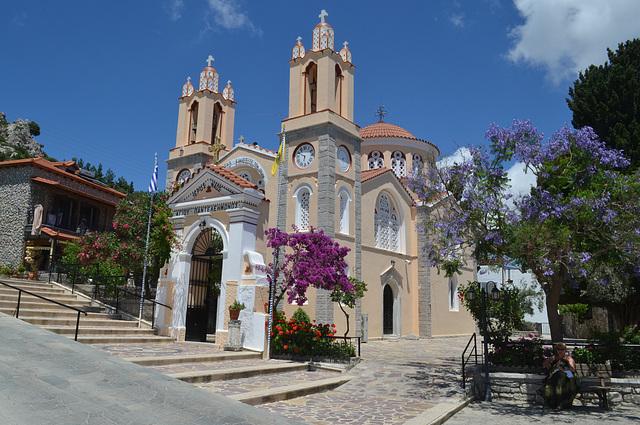 Rhodes, Aghios Panteleimonas Church in Siana