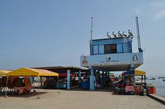 Lima, Playa Agua Dulce, Fish Market