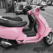 Pink Scooter (0149A)