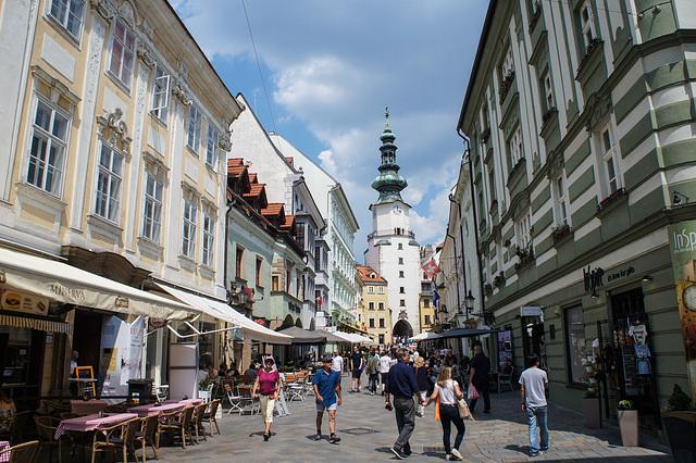 Bratislava Main Street