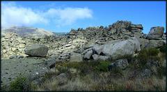 Pure granite scenery