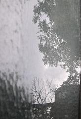 Balancement de reflet pluvial