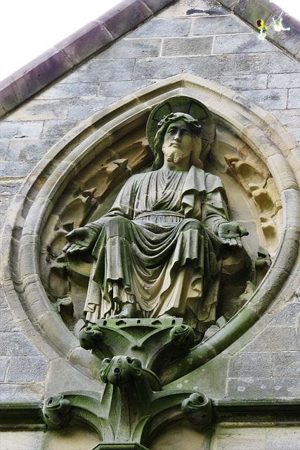 christ the consoler, skelton, yorkshire