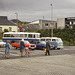 The ferry queue Kyle of Lochalsh Sept 1980