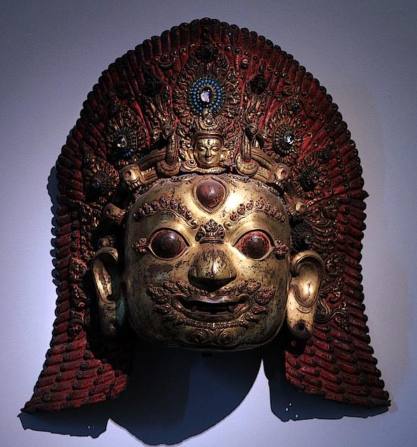 Masque de Siva Bhairava