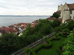 Die Fähre nach Konstanz verläßt Meersburg