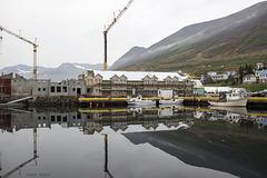 Erecting a New Hotel in Siglufjörður