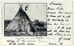 MN0950 N.W.T. INDIAN TEPEE