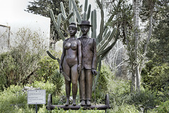 """The Lovers on Wheels"" – Artists' Village, Ein Hod, Haifa District, Israel"