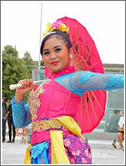 Folklore du monde à Saint Malo (2017): L'Indonésie