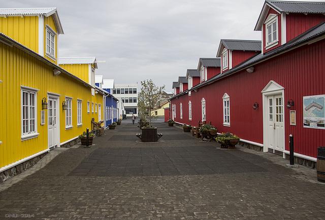 Old Fishing Halls in Siglufjörður