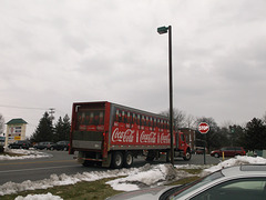 Coca-Cola on snow / Coke sur neige