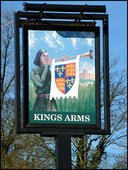 Kings Arms sign at Wheatley