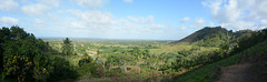 Dominican Republic, Landscape with Eastern Cordillera Uplands of the Haiti Island