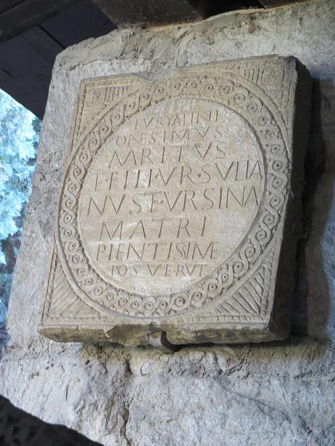 Musée archéologique de Split : CIL III, 14269.