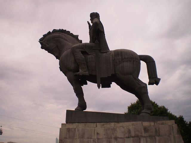 Statue of Vakhtang Gorgasali.