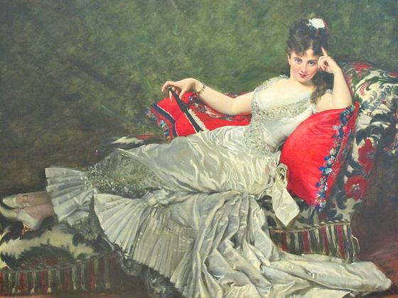 Portrait de Mademoiselle de Lancey