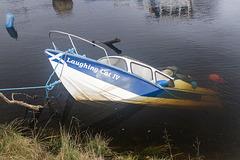 Sunken Boat, River Leven, Dumbarton